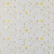 Jonquil Embroidery Decorator Fabric by Duralee