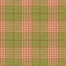 Green/Pink/White Check Decorator Fabric by Kravet