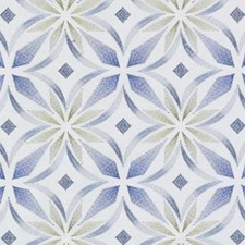 Blue/Green Diamond Decorator Fabric by Duralee