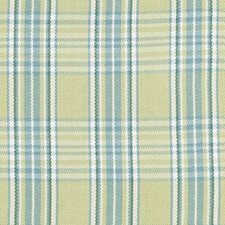 Spring Green Plaid Decorator Fabric by Duralee