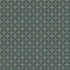 Blue Slate Botanical Decorator Fabric by Kravet