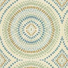 Vapor Blue Dots Decorator Fabric by Kravet