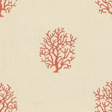 Coral Novelty Decorator Fabric by Kravet