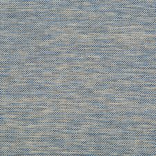 Indigo/Beige Metallic Decorator Fabric by Kravet
