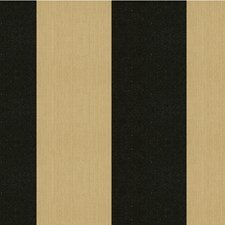 Charcoal/Black/Beige Stripes Decorator Fabric by Kravet