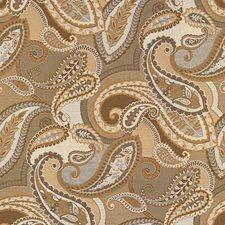 Beige/Grey/Brown Paisley Decorator Fabric by Kravet