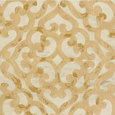 Gold Lattice Decorator Fabric by Kravet