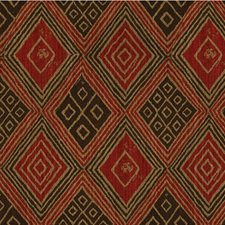 Brown/Rust/Taupe Global Decorator Fabric by Kravet