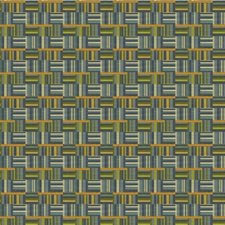 Blue/Gold/Green Plaid Decorator Fabric by Kravet