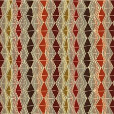Spice Diamond Decorator Fabric by Kravet