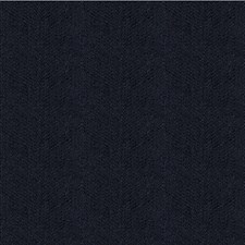 Dark Blue Herringbone Decorator Fabric by Kravet