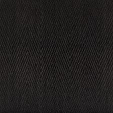 Black Herringbone Decorator Fabric by Kravet