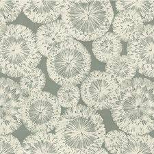 Vapor Blue Botanical Decorator Fabric by Kravet