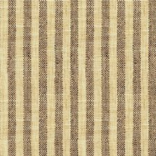Brown/Wheat Stripes Decorator Fabric by Kravet
