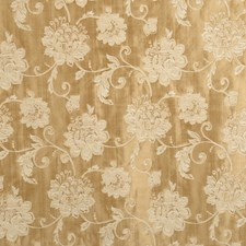 Straw Floral Decorator Fabric by Fabricut