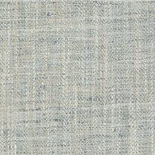 Light Blue/Beige Herringbone Decorator Fabric by Kravet