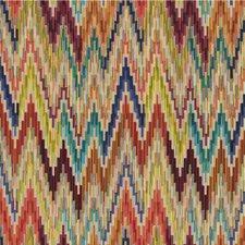 Beige/Multi Ikat Decorator Fabric by Kravet