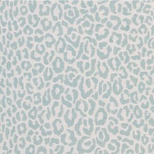 Aquamarine Animal Skins Decorator Fabric by Kravet