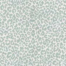 Light Blue/Ivory Animal Skins Decorator Fabric by Kravet