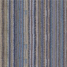 Blue/Beige/Brown Stripes Decorator Fabric by Kravet