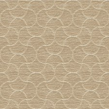 Beige/Ivory/Gold Geometric Decorator Fabric by Kravet