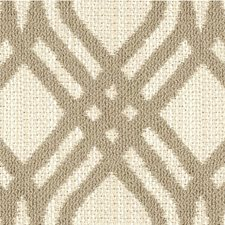 Beige/Ivory Geometric Decorator Fabric by Kravet