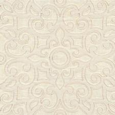 Ivory Lattice Decorator Fabric by Kravet