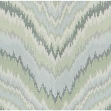 Mist Flamestitch Decorator Fabric by Kravet