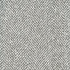 Light Grey/Light Blue Herringbone Decorator Fabric by Kravet