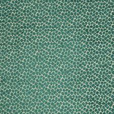 Teal/Beige Animal Skins Decorator Fabric by Kravet