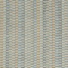 Blue/Grey/Brown Stripes Decorator Fabric by Kravet