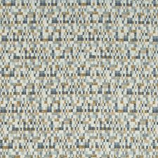Blue/Bronze/Grey Small Scales Decorator Fabric by Kravet