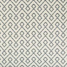 Beige/Light Grey/Blue Lattice Decorator Fabric by Kravet
