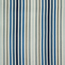 Blue/Slate/Grey Stripes Decorator Fabric by Kravet