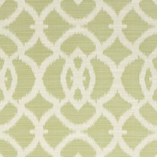 Green/Beige Ikat Decorator Fabric by Kravet