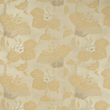 Ochre Botanical Decorator Fabric by Kravet