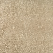 Beige/Taupe Paisley Decorator Fabric by Kravet