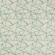 Light Blue/Beige Modern Decorator Fabric by Kravet