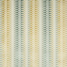 Sea Glass Geometric Decorator Fabric by Kravet