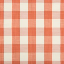 Coral Plaid Decorator Fabric by Kravet