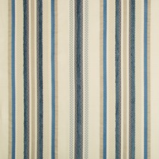 Light Blue/Beige/Blue Stripes Decorator Fabric by Kravet
