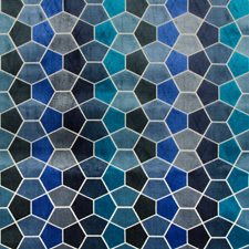 Dark Blue/Blue/Slate Modern Decorator Fabric by Kravet