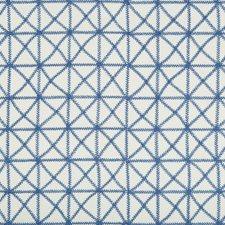 Cornflower Geometric Decorator Fabric by Kravet