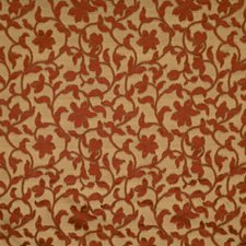 Vermillion Floral Decorator Fabric by Fabricut