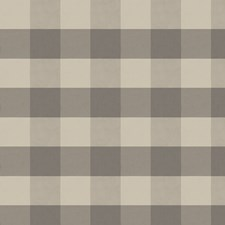 Charcoal Check Decorator Fabric by Fabricut