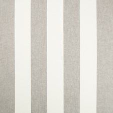 White/Grey Stripes Decorator Fabric by Kravet