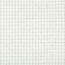 White/Dark Blue/Indigo Check Decorator Fabric by Kravet