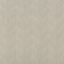 Beige/White Herringbone Decorator Fabric by Kravet