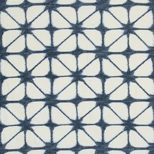 Blue/Dark Blue Modern Decorator Fabric by Kravet