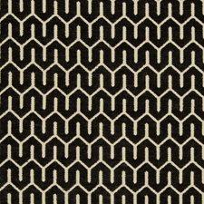 Beige/Black Geometric Decorator Fabric by Kravet